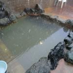 北村温泉の露天風呂。