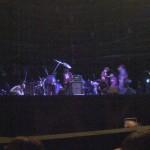 開演前(PA調整中)のエレカシのステージ