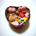 頂いた手作りのチョコレート