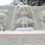 2011年の雪ミク