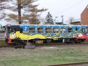 「ふるさと銀河線りくべつ鉄道」のCR75-2号機