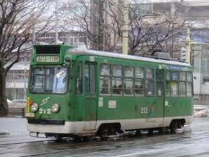 市電212号車