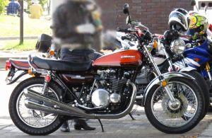 エンジンの色やブレーキ等から初期型と思われるZ1