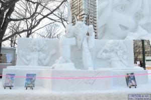 「マクロス」関連の雪像