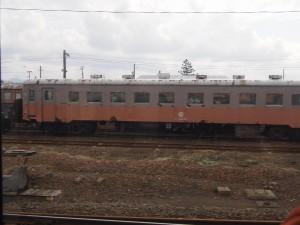 五所川原駅に留置されていたキハ22027