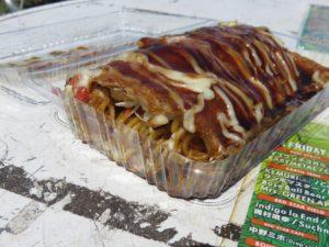 二日目の昼食はこの「広島お好み焼き」。